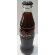 Botella Coca Cola Zero 237ml (sin Abrir) Para Coleccionistas