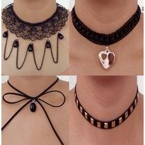 Collar Choker De Moda Gratis 5 Desde 50 Pzas