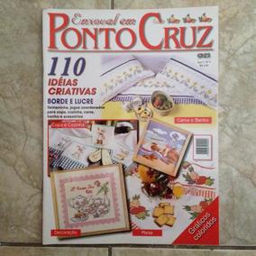 Revista Enxoval Em Ponto Cruz N4 Ano 2 110 Ideias Criativas