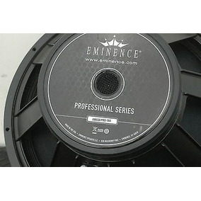 Un Bajo Eminence Omega Pro 18 A, Hecho En Usa, Miniteca.