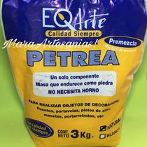 3 Kg Pasta Petrea Eq Arte ( Pasta Piedra) - Blanca O Natural