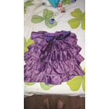 Pollera Disfraz De Violeta Para Nenas