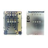 Conector Simcard Samsung Wave 525 Gt-s5250 Berço Do Chip