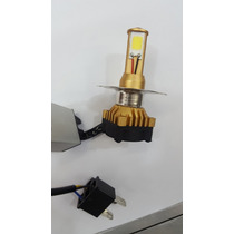 Lampada Farol Super Branca 3d Leds Moto 6000k H4 = Xenon
