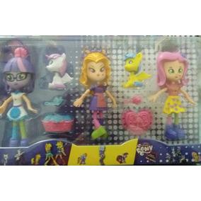 Bonecas My Little Pony Equestria Girls- Kit C/ 3 Bonecas