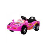 Vehiculo Infantil Cars Rosado Nuevo