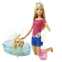 Barbie Baño De Perritos Mattel Dgy83