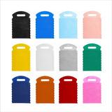 500 Sacolinhas Lixeira Lixo Car Tnt Sem Personalização Lisa