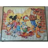 Cuadro Infantil Disney Mickey Mouse Minnie Pato Donald Daisy