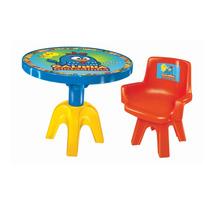 Mesa Com Cadeira Galinha Pintadinha - Líder Brinquedos