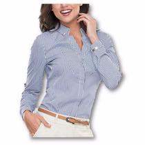 Blusa Camisera Formal Para Dama Af1510