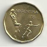 Argentina ´78 Mundial De Futbol (moneda) 20 Pesos 1978