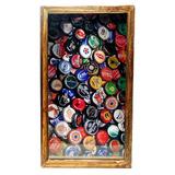 Quadro Porta Tampinhas De Cerveja Rustico