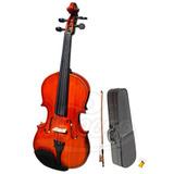 Violin 1/2 Con Estuche Tipo Maleta Etinger ( Envío Gratis )