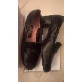 Zapatos Negros N° 39 Cuero Estrenalos