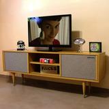 Mueble Tv Consola Retro Americano - Guatambú 100%nuevo