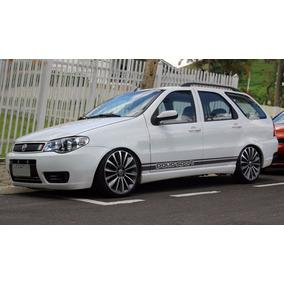 Faixas Esportiva Laterais Automotivas Palio, Weekend, Fiat