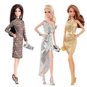 Barbie Look Shine Lote De 3