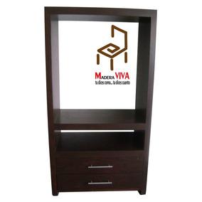 Mueble Television Centro Entretenimiento Tv Madera Oferta