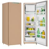 Refrigerador 1 Porta Consul Degelo Manual Bege 239l 220v Crc
