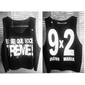 Regata Camiseta Cropped Atlético-mg 9x2 - Mammuth