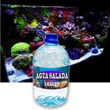 1 Galon De Agua Pura Ideal Para Pecera De Agua Salada Xaris.