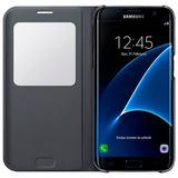 Estuche Forro Samsung S7 Edge S View Cover Negro