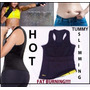 Blusa Cinturilla Hot Shaper Neopreno Reductora Gym