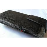 Estuche - Forro 100% Cuero Original Blackberry Z10 O Bb10!!!