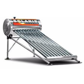 Calentador Solar De Acero Inoxidable 10 Tubos Solaris