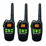 Motorola Talkabout Md200tpr 3 Radios 22 Canales 32 Km Alcanc