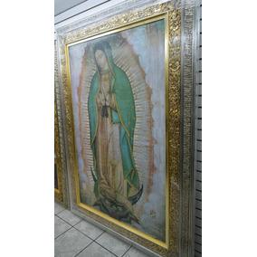 Cuadro Tamaño Natural 2mt Virgen De Guadalupe Certificada