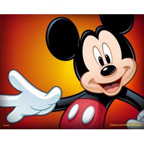 Painel Lona Fosca Mickey Mk 07 - 2,00x1,50 Envio 48hs