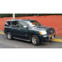 Nissan Armada Circula Diario Piel Quemacoco-paq Arrastre