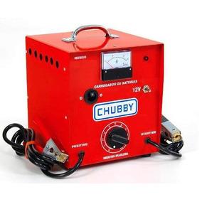 Carregador De Bateria Chubby 20ah 12v C/ Auxiliar De Partida