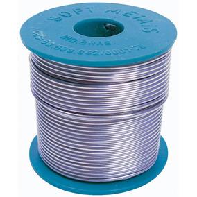 Estanho Em Fio 1,0mm Azul Rolo 500g - Soft