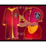 Disfraz Capa Gryffindor Adulto Quidditch Harry Potter Igo!