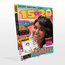 Invitación Revista Xv Años!!! Diseñada Como Tu Quieras!!!