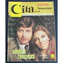 Fotonovela, Veronica Castro Y Cesar Costa.