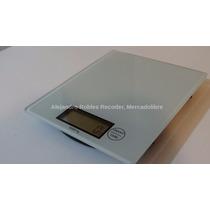 Bascula Digital Con Lcd De Cocina De Vidrio, 1g A 5kg
