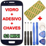Vidro Samsung Galaxy S3 Mini I8190 Tela S/ Touch Lcd Display