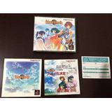 Tales Of Eternia - Playstation 1 Jpn - Leia! Falta O Disco 3