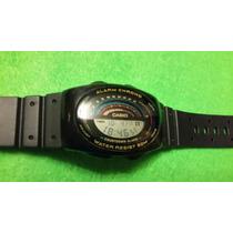 Reloj De Pulsera Vintage Casio W-91 Alarm Chrono