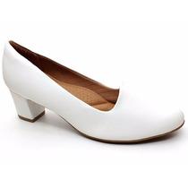 Sapato Branco Feminino Piccadilly Original 110101 Pixolé