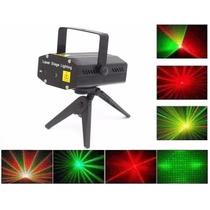 Kit Com 5 Mini Laser Projetor Holografico Coracao Estrela