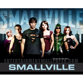 Dvd Smallville. Todas As 10 Temporadas Completas Em 60 Dvds