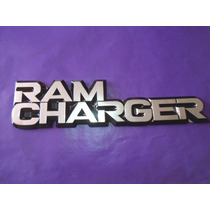 Emblema Ram Charger Dodge Camioneta