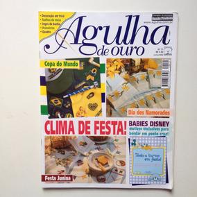 Revista Agulha De Ouro Ponto Cruz Jogos De Banho Quadro N°71