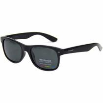 Óculos De Sol Polaroid 1015 D28/y2 Shiny Black Polarizada