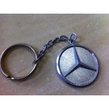 Chaveiro Em Metal Mercedes Benz 608 Original Anos 80